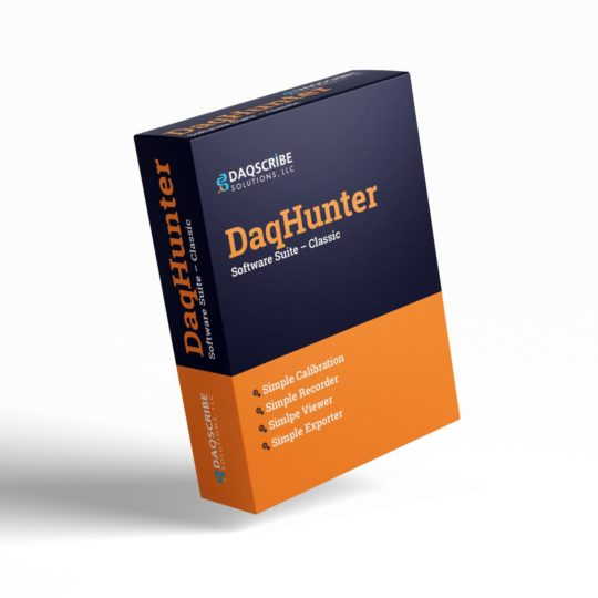 DaqScribe Solutions DaqHunter Software Suite for DAQ Recorders